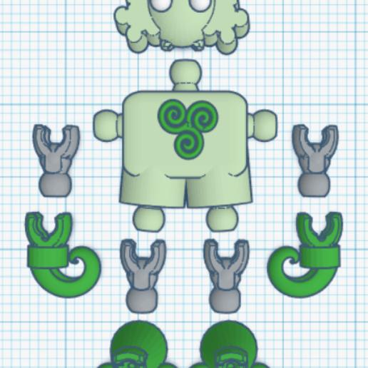 klicketv3-top.png Download free STL file Klicket v3.0 • 3D printer design, gotbits