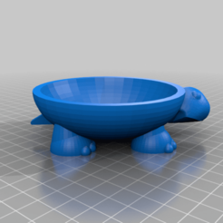 footed_turtle_bowl.png Download free STL file Footed Turtle Bowl with Lid • 3D printer design, gotbits