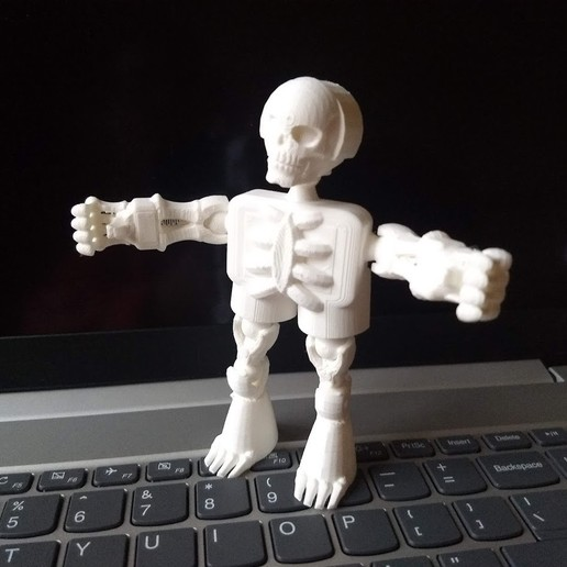 IMG_20200111_103638679.jpg Download free STL file Klicket v4 - Boney • 3D printer template, gotbits
