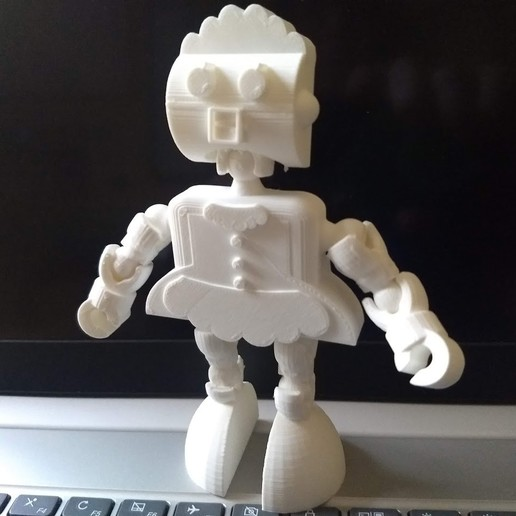 IMG_20200116_104316676.jpg Download free STL file Rosie the Robot Maid - Jetsons - Klicket Compatible • 3D print object, gotbits