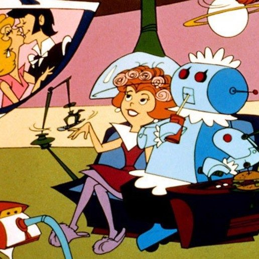 jetsons_rosie.jpg Download free STL file Rosie the Robot Maid - Jetsons - Klicket Compatible • 3D print object, gotbits
