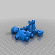 Download free 3D printing templates Klicket - Action Figure, gotbits
