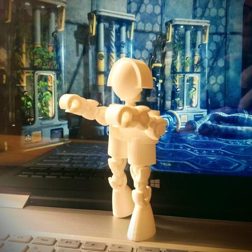 IMG_20191128_110411834.jpg Download free STL file Klicket - Action Figure • 3D printable design, gotbits