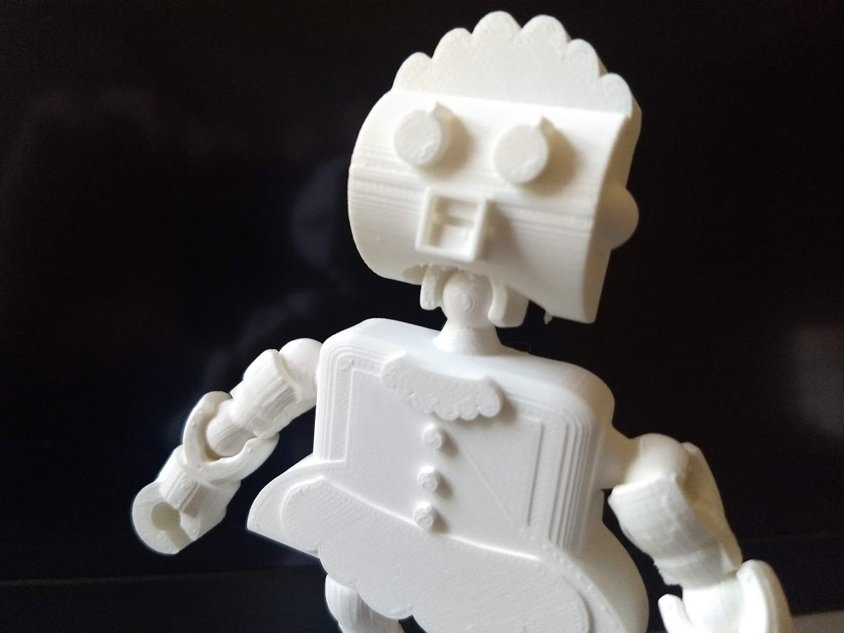 IMG_20200116_104344236.jpg Download free STL file Rosie the Robot Maid - Jetsons - Klicket Compatible • 3D print object, gotbits