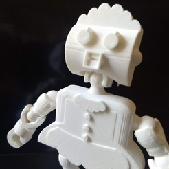 Download free STL file Rosie the Robot Maid - Jetsons - Klicket Compatible • 3D print object, gotbits