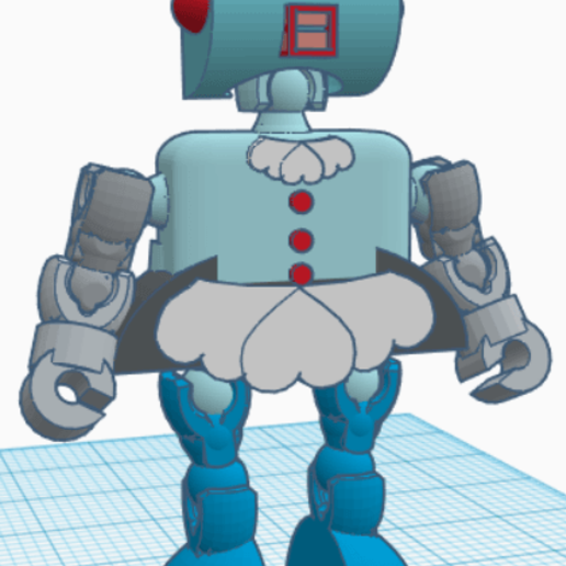 Klicket_Rosie2.png Download free STL file Rosie the Robot Maid - Jetsons - Klicket Compatible • 3D print object, gotbits
