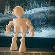 IMG_20191128_105454253.jpg Download free STL file Klicket - Action Figure • 3D printable design, gotbits