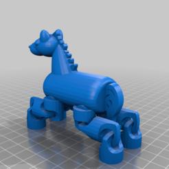 Hobby_Horse.png Download free STL file Crazy Legs Flexi Horse • Design to 3D print, gotbits