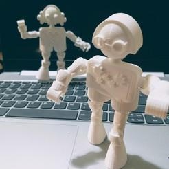 Télécharger plan imprimante 3D gatuit Klicket v1.0, gotbits