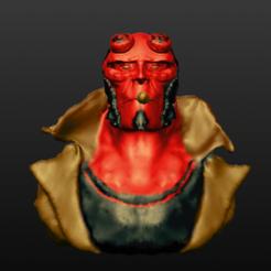 Descargar archivo 3D Hellboy, alfoverme67