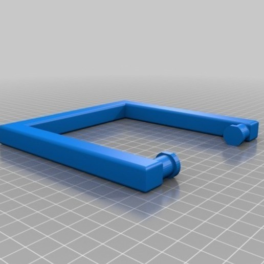Download free STL file handle for portable refrigerator • 3D printing template, franhabas