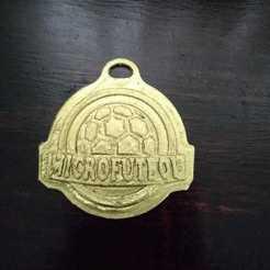 Download free 3D printing files football medal, jguerra68