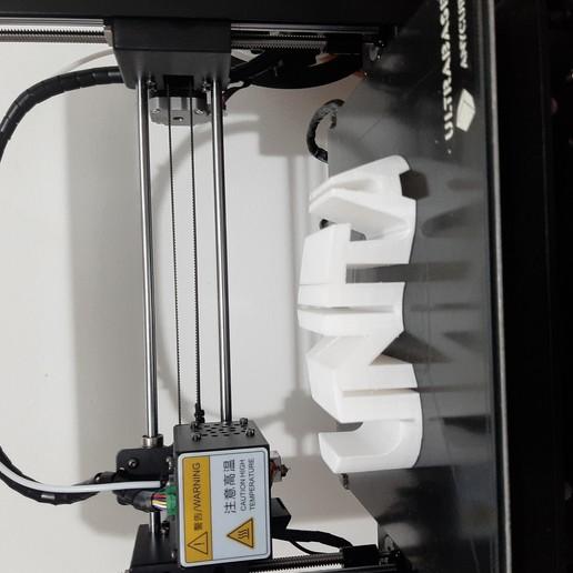 Download free 3D printing designs dual figure. name & heart, jguerra68