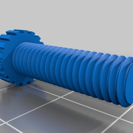 screw.png Download free STL file Finger Pen • 3D printer design, peluchitoanonimo