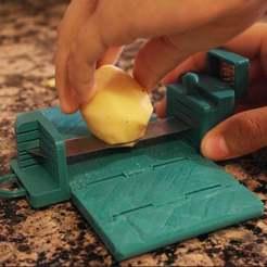 ddddd.jpg Télécharger fichier STL gratuit Coupeuse de pommes de terre • Objet imprimable en 3D, peluchitoanonimo