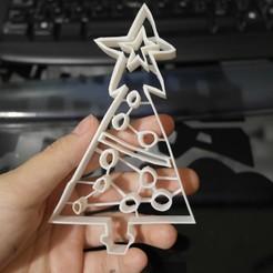 Impresiones 3D gratis Galletas para dibujar en el árbol de Navidad, peluchitoanonimo