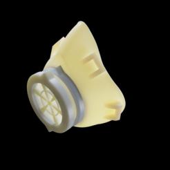 Descargar Modelos 3D para imprimir gratis COVID-19 MASK, Aquitecturaimpresa