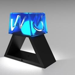 Download 3D printer files Night table lamp, santi46950