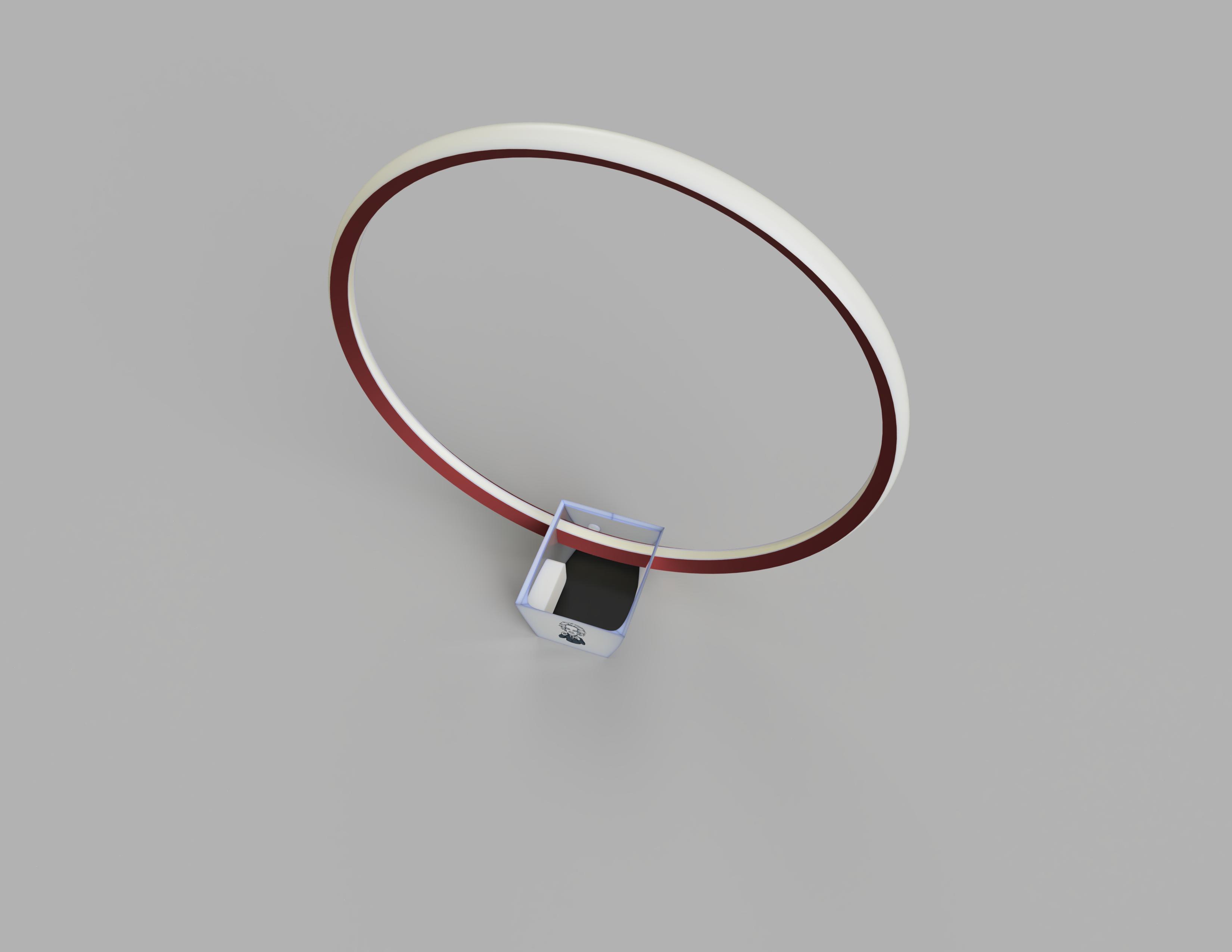 Lampara Mesada Render 1.PNG Télécharger fichier STL gratuit Lampe - Circulaire LED - Circulaire • Design pour impression 3D, JDF89