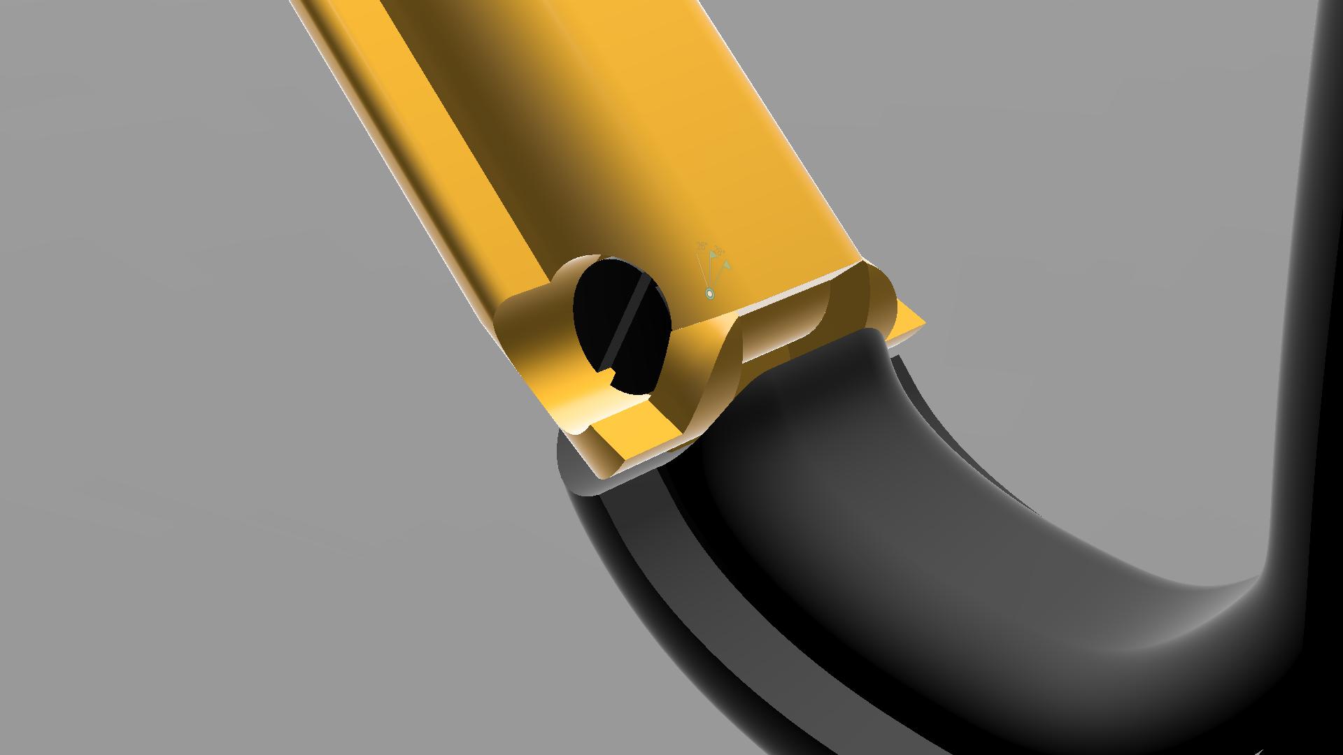 Mosqueton Spartan Carabiner v3 Interior Sistema.png Download STL file Carabiner / Carabineer - Spartan Carabiner - • 3D printable design, CHKDesign