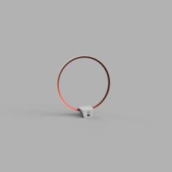Download free 3D printing models Lamp - Circular LED -, JDF89