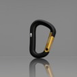 Mosqueton_Black_Diamong_2019-Oct-31_05-37-41AM-000_CustomizedView16012723219.png Download STL file Carabiner / Carabineer - Spartan Carabiner - • 3D printable design, CHKDesign