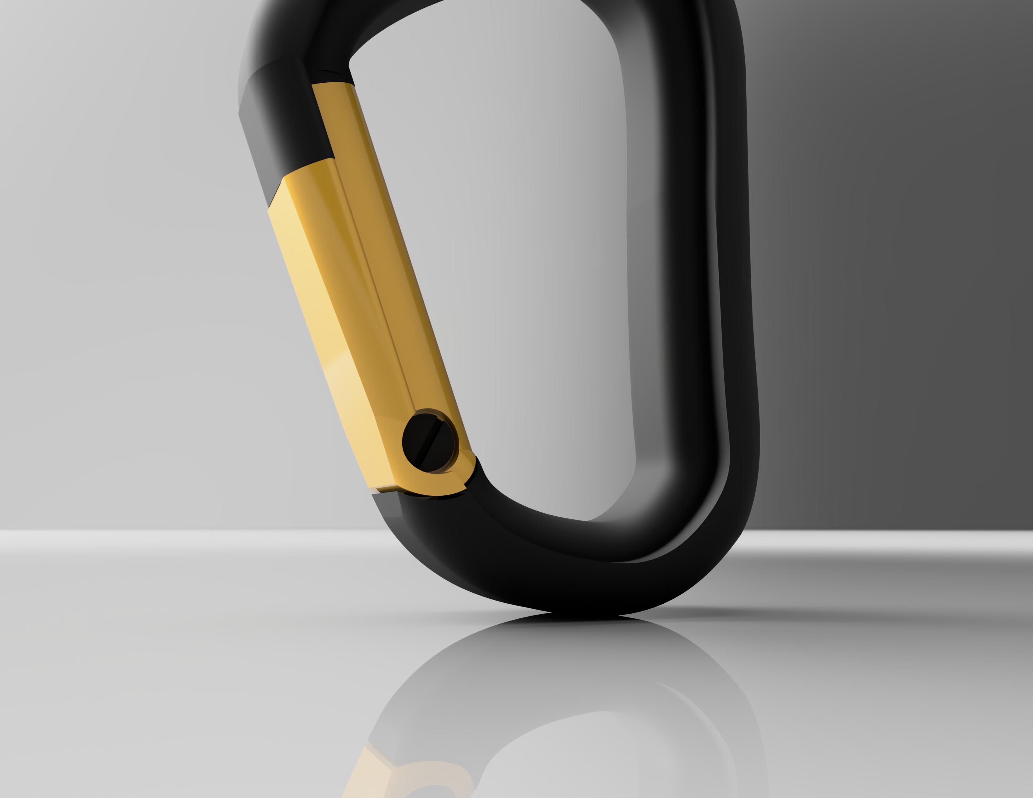 Mosqueton_Black_Diamong_2019-Oct-31_06-02-22AM-000_CustomizedView17251420439_jpg.jpg Download STL file Carabiner / Carabineer - Spartan Carabiner - • 3D printable design, CHKDesign