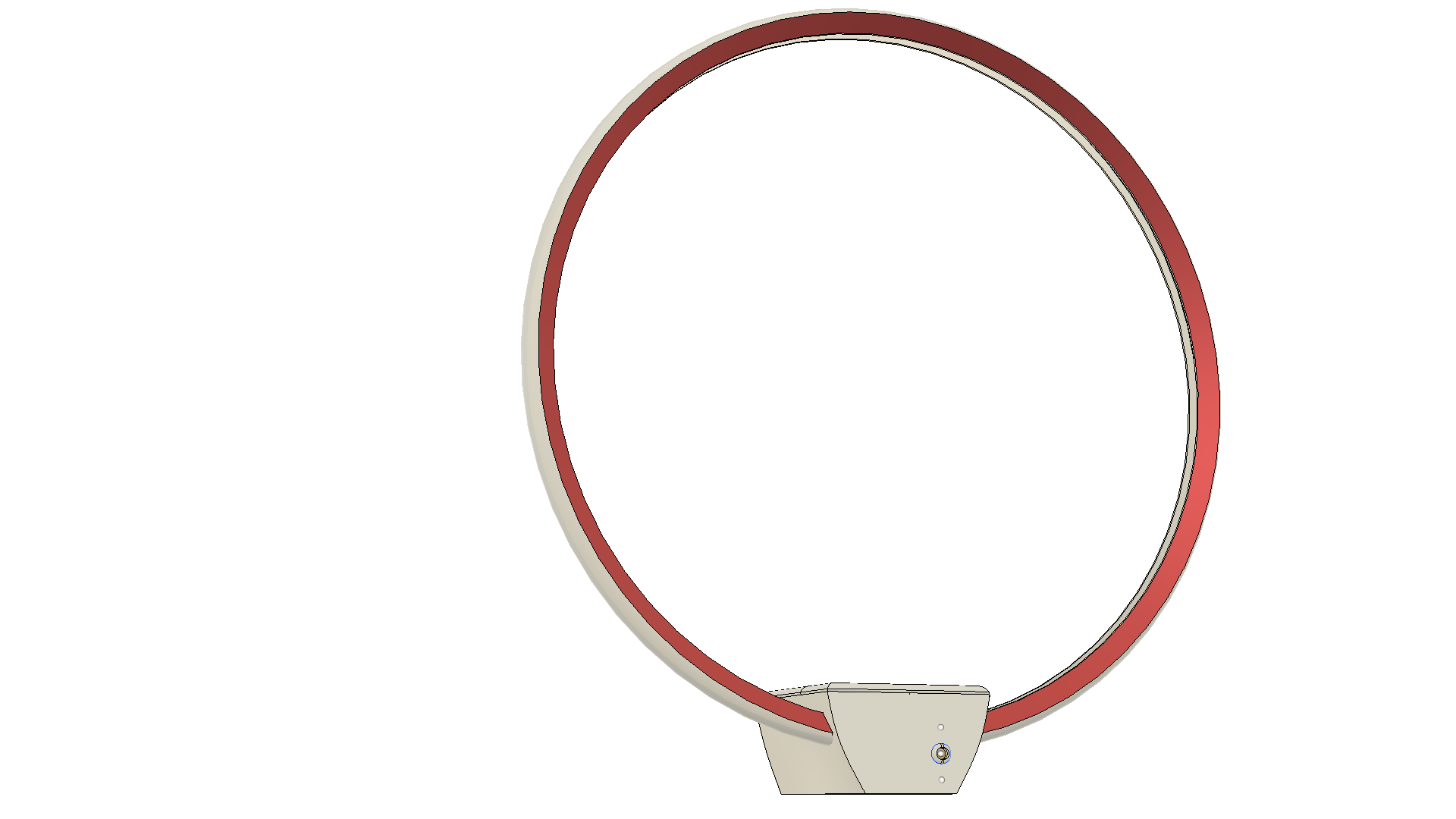 Lampara Mesada 2.png Télécharger fichier STL gratuit Lampe - Circulaire LED - Circulaire • Design pour impression 3D, JDF89