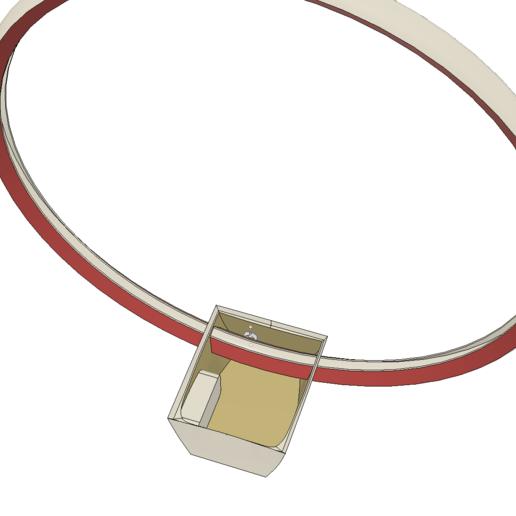 Lampara Mesada 3.png Télécharger fichier STL gratuit Lampe - Circulaire LED - Circulaire • Design pour impression 3D, JDF89