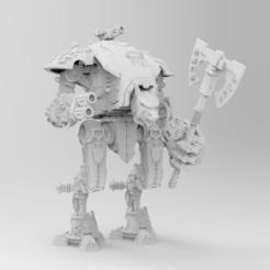 Descargar archivo 3D gratis Conversión de Príncipe Lobo para Portador de Armas, johnthewarlock