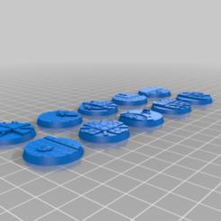 Impresiones 3D gratis El proyecto de la base de la ciudad, johnthewarlock