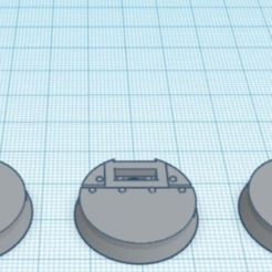 25mm_SM_Bases.PNG Download free STL file 25mm Starship/Manufactorum Bases • 3D printable object, johnthewarlock