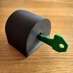 Download free 3D printing models 3D printed lock, EL3D
