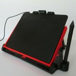 IMG_2394.jpg Télécharger fichier STL gratuit Support pour tablette à dessin • Modèle pour imprimante 3D, EL3D