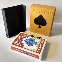 IMG_20190416_102028422_HDR.jpg Download free STL file Playing cards protection box • Design to 3D print, EL3D