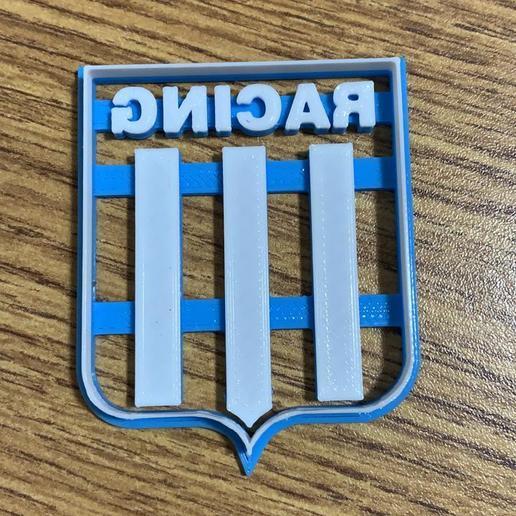 Download 3D printing files Cutter Cookie RACING CLUB AVELLANEDA CORTANTE GALLETITAS, pablorusso88
