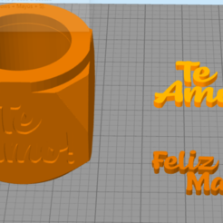 matemama1.PNG Download STL file Mate Mother's Day • 3D printable object, pablorusso88