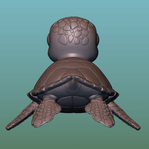 "container_turtle-sea-turtle-cartoon-3d-printing-166054.png Télécharger fichier OBJ gratuit TORTUE ""SEA FINDING NEMO MOVIE SQUIRT"" • Design imprimable en 3D, soriana3320"