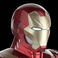 Download free 3D printing models IRON MAN Mark 46 helmet, soriana3320