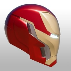 Download free STL files IRON MAN Mark 50 Infinity War helmet, soriana3320