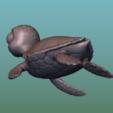 """Descargar diseños 3D gratis TURTLE """"SEA FINDING NEMO MOVIE SQUIRT"""", soriana3320"""