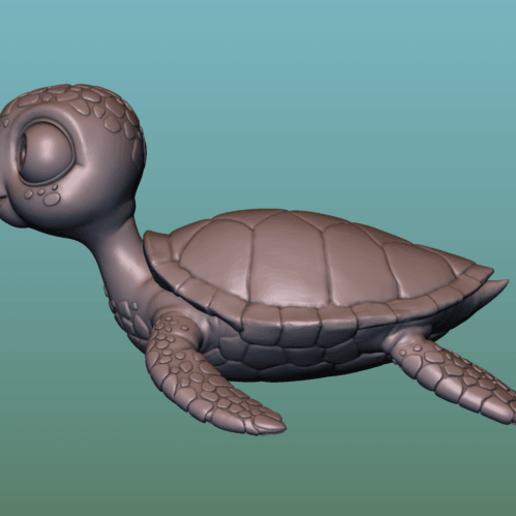 "container_turtle-sea-turtle-cartoon-3d-printing-166053.png Télécharger fichier OBJ gratuit TORTUE ""SEA FINDING NEMO MOVIE SQUIRT"" • Design imprimable en 3D, soriana3320"