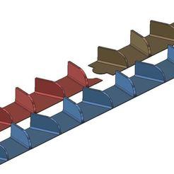 Descargar diseños 3D gratis Generadores de vórtice RC apilables, 3DIWERKI44