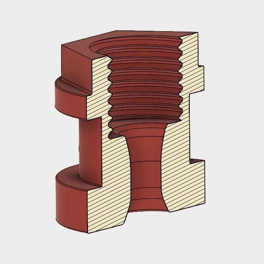 Télécharger fichier STL gratuit Adaptateur V6 direct à bowden pour Titan, Bondtech, ..., ... • Plan pour imprimante 3D, 3DIWERKI44