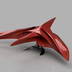 Descargar modelo 3D gratis Space Glider / Nave espacial con soporte, CptAwesome