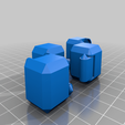Download free STL files Yet Another Fidget Infinity Cube v2-dual color, 3d_dd_printing