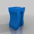 Download free STL file Pencil Sharpener Penholder • 3D printing template, 3d_dd_printing