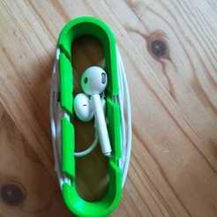 Impresiones 3D gratis Soporte de auriculares con funda, 3d_dd_printing