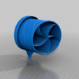 Download free 3D printing designs Cutlery Drainer Turbine-Inspired, 3d_dd_printing