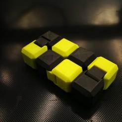 Télécharger objet 3D gratuit Encore un autre cube Fidget Infinity Cube v2-dual color, 3d_dd_printing